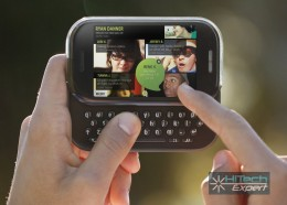 Windows Phone KIN Two - всегда на связи в социальных сетях