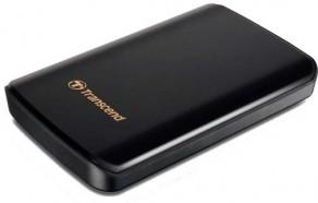 Transcend StoreJet 25D3 - ударопрочный портативный HDD-накопитель с интерфейсом USB 3.0