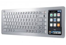 ASUS EeeKeyboard PC – клавиатура-компьютер