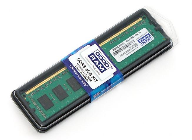 Комплект GOODRAM DDR3 4 GB Kit