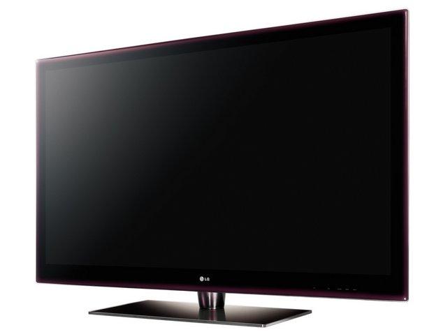 LG LE7500: телевизор в ультратонком INFINIA-дизайне