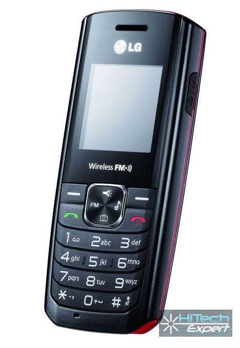 LG GS155 - недорогой мобильник с беспроводным радио