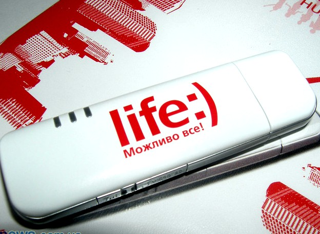 «life:) модем» - к 3G готов!