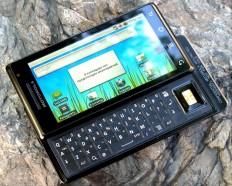 Локализованный Android-смартфон Motorola Milestone – доступен в Украине