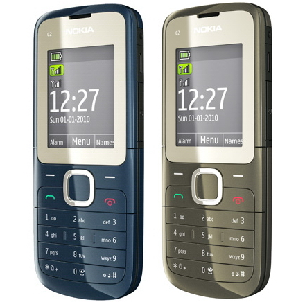 Nokia C2 - первый телефон Nokia с двумя SIM-картами