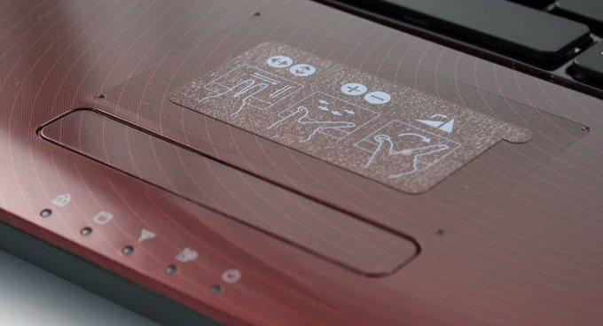 Samsung R580: «яркий» ноутбук R580-touchpad