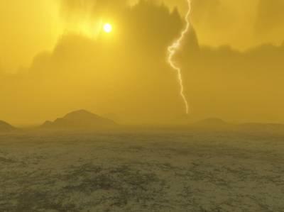 Была ли Венера водным миром? Иллюстрация ESA
