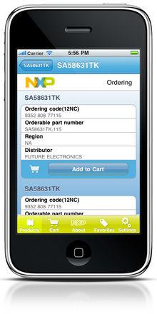 NXP выпустила приложение для iPhone