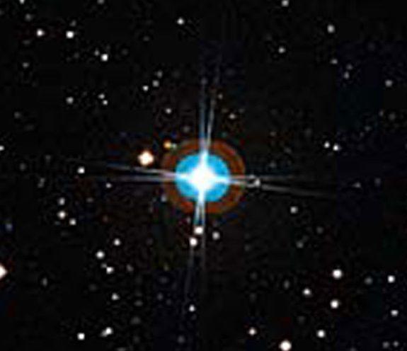 Звезда HD 10180 в созвездии Гидры окружена несколькими планетами