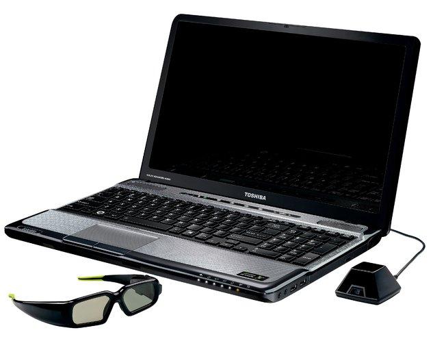 Toshiba Satellite A665 - первый в мире ноутбук с поддержкой NVIDIA 3D Vision и Blu-ray 3D-приводом