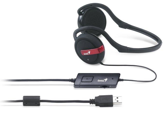 Genius HS-300U - игровая USB-гарнитура