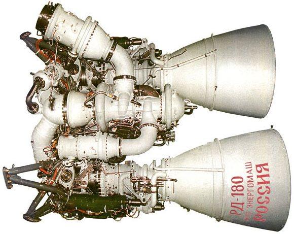 Жидкостный ракетный двигатель РД-180
