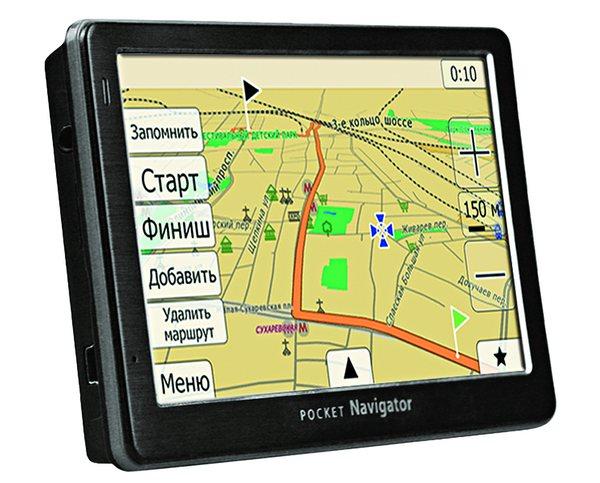 GPS навигатор с антирадаром