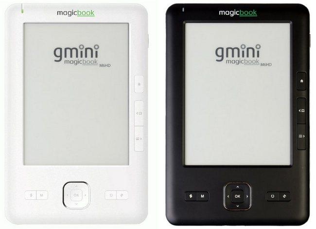 книга с HD e-ink экраном