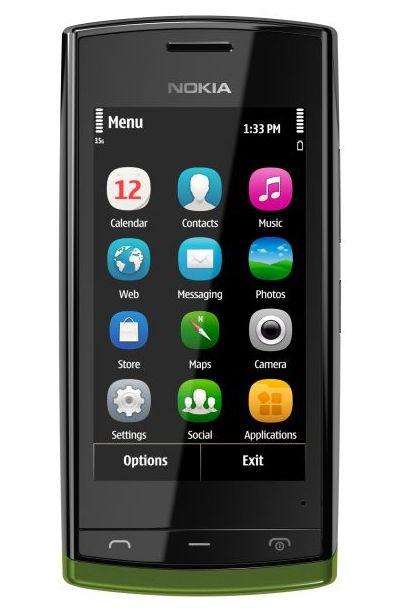 бюджетный смартфон Nokia 500 на Symbian Anna