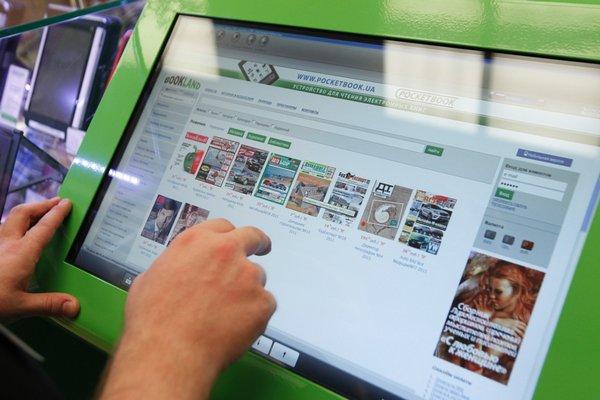 Магазины Pocketbook открылись в Москве