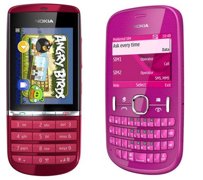 Nokia Asha 200 и 300