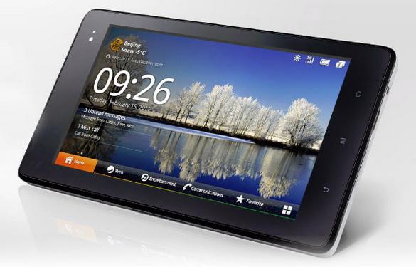 планшет Huawei IDEOS S7 Slim