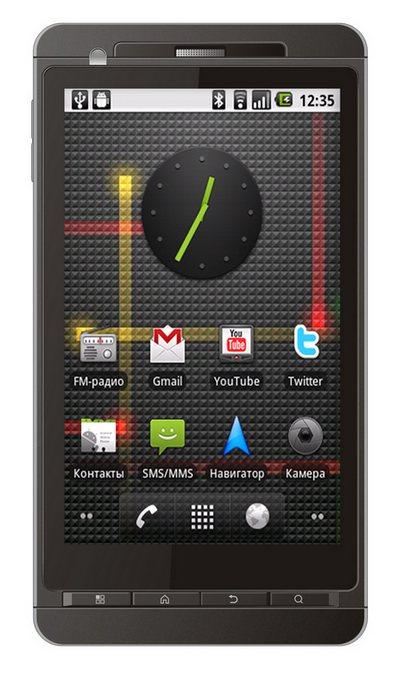 Highscreen HD Duo - двухсимный Android с большим экраном