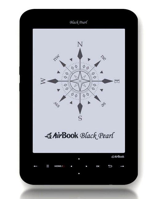 AirBook Black Pearl: самый легкий е-ридер