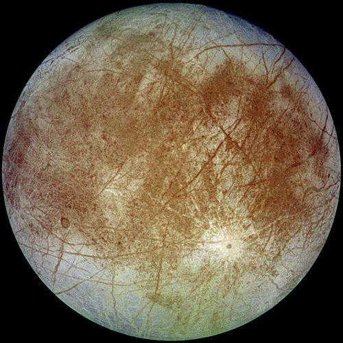 Европа - спутник Юпитера