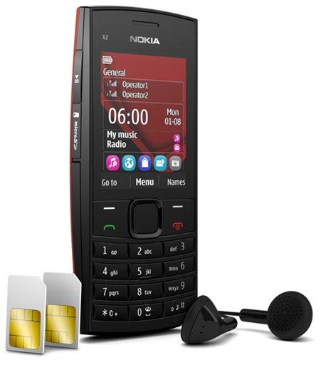 Nokia X2-02 – дешевый музыкальный Dual SIM