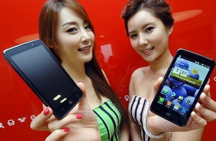 продажи LG Optimus LTE