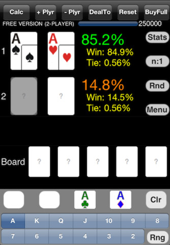 Poker Cruncher для iPhone