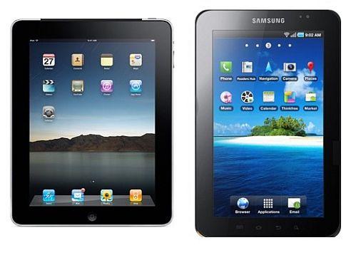 iPad и Galaxy Tab