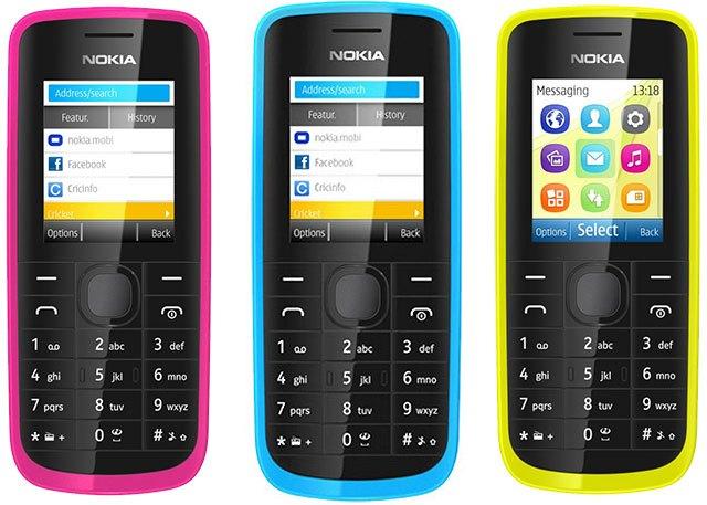 Nokia 112 и Nokia 113
