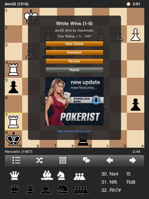 Chess.com на iPad