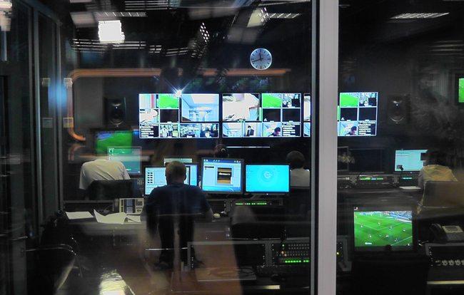 В студии канала Футбол
