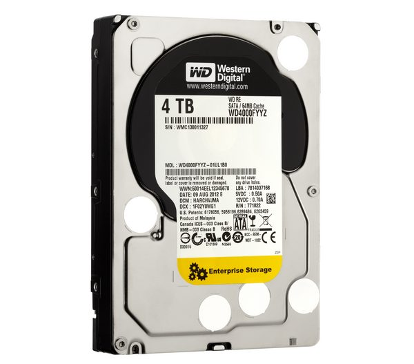 WD RE - HDD 4 ТБ