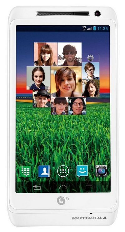 Motorola MT788 - Android-смартфон на базе Intel Atom
