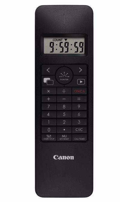 Canon X MARK I Presenter - калькулятор, таймер, пульт ДУ и лазерная указка