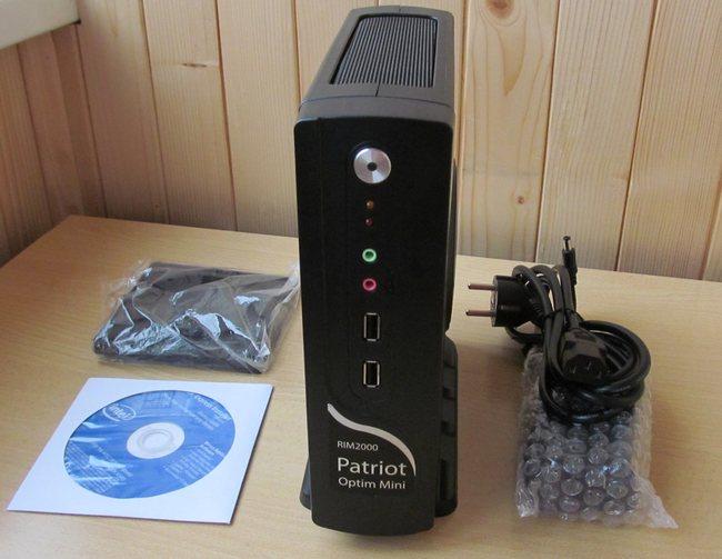 мини ПК Patriot Optim Mini с комплектом