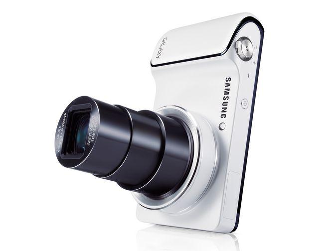 Samsung Galaxy Camera объектив