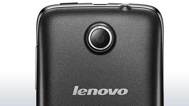 Задняя панель и камера Lenovo A390