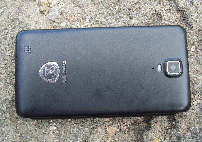 Prestigio Multiphone 5044 Duo - задняя крышка