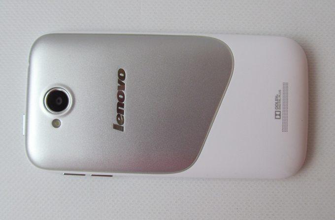 Lenovo A706 - задняя панель