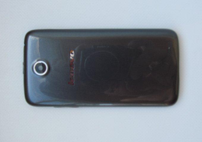 Lenovo A516 - задняя панель