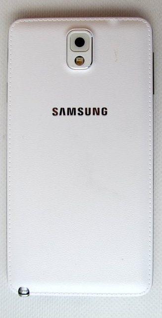 Samsung Galaxy Note 3 - задняя крышка