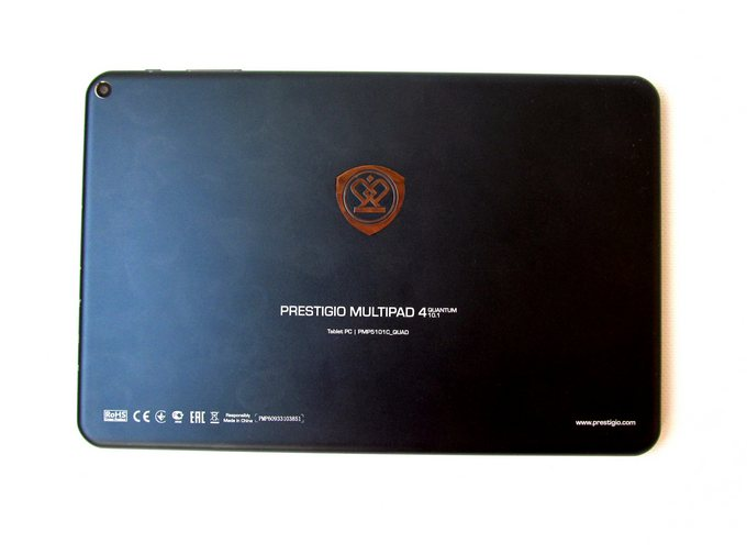 Prestigio MultiPad 4 Quantum 10.1 - алюминиевый корпус