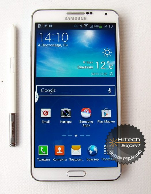 Samsung Galaxy Note 3 — 8-ядерный смартфон