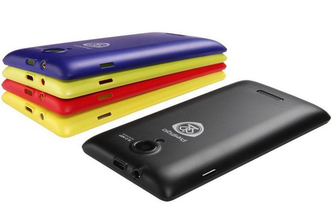 Prestigio Multiphone 5450 Duo - цветные крышки