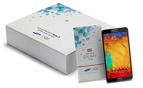Samsung выпустила олимпийский Galaxy Note 3 Olympic Games Edition