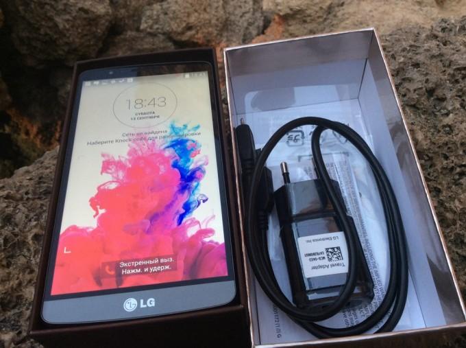 Упаковка LG G3