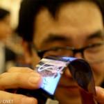 К концу 2015 года Samsung наладит массовое производство гибких дисплеев для смартфонов