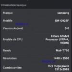 Смартфон Samsung Galaxy S6 получит 16МР камеру