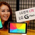 LG выпускает LTE версию планшета LG G Pad 8.0 LTE